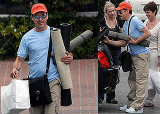 Robert Downey Jr. Shops For Rugs in Santa Monica