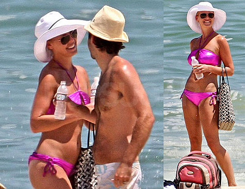 Katherine Heigl Bikini Photos in Cancun With Husband Josh