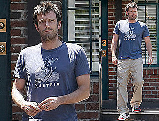 Ben Affleck Leaves His Office in Pasadena