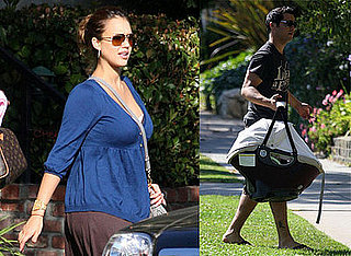 First Photos of Jessica Alba Since Giving Birth To Baby Honor Marie Warren