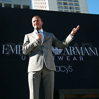 Top Celebrity News Stories For the Week of May 25, 2008 — David Beckham's New Armani Underwear Ad Debuts in San Francisco