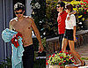 Photos of Orlando Bloom Shirtless On Vacation With Model Girlfriend Miranda Kerr