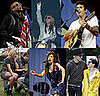 Photos of Celebrities at 2008 Glastonbury Festival, Amy Winehouse Punches a Fan, Jay-Z Performs Wonderwall