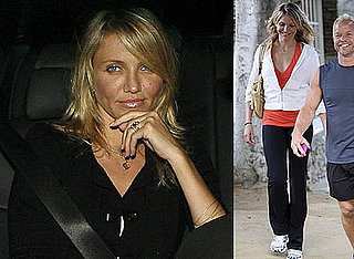 Photos of Cameron Diaz at Nobu