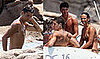 Photos of Cristiano Ronaldo and Bikini-Wearing Nereida Gallardo in Sardinia