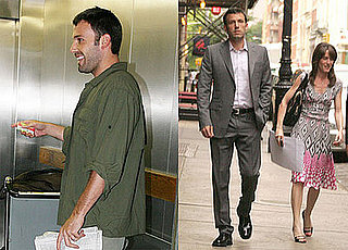 Photos of Ben Affleck at LAX and in SoHo