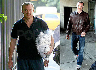 Photos of Guy Ritchie in NYC, Madonna's Rep Denies Divorce Rumors