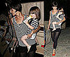 Photos of Katie Holmes and Suri Preparing For Broadway