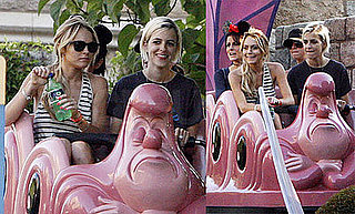 Photos of Lindsay Lohan and Samantha Ronson at Disneyland 2008-07-07 07:05:00
