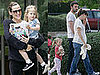 Photos of Celebrity Baby Violet Affleck with Jennifer Garner and Ben Affleck