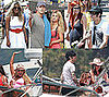 Photos of Jessica Simpson, Tony Romo, Ashlee Simpson, and Pete Wentz in Lake Tahoe