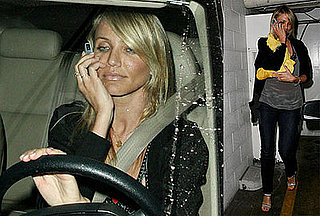 Photos of Cameron Diaz Leaving Madeo