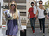 Photos of Lindsay Lohan and Samantha Ronson Out to Lunch