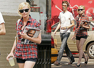 Photos of Kirsten Dunst Holding Barack Obama Rolling Stone