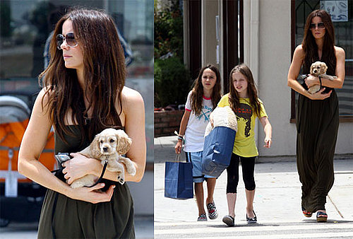 Kate Beckinsale Gets a New Puppy