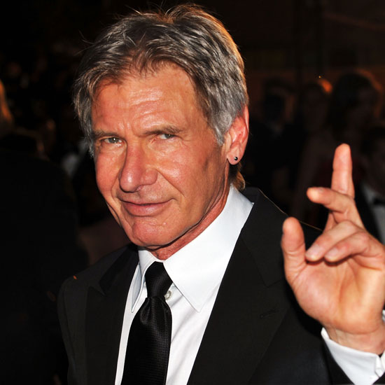 45. Harrison Ford