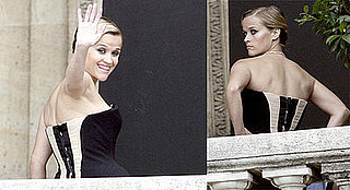 Photos of Reese Witherspoon on Mario Testino Photo Shoot in Paris