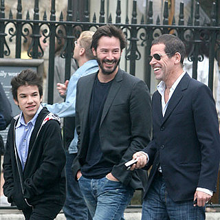 Keanu Reeves in London