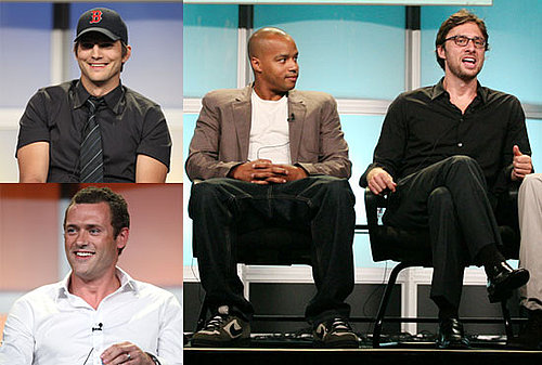 Photos of Ashton Kutcher, Zach Braff, Donald Faison, Sarah Chalke, and More at ABC TCA Presentation