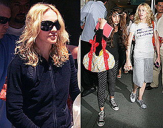 Photos of Madonna looking ill leaving Kabbalah Centre