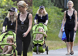 Photos of Madonna and Gwyneth Paltrow in the Hamptons with Their Kids