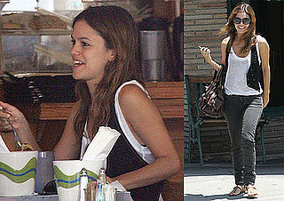 Photos of Rachel Bilson At Lunch at Mustard Seed Cafe in LA