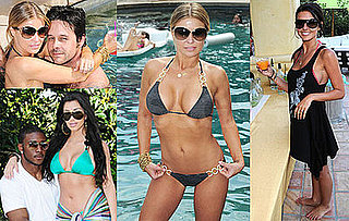 Bikini Photos of Carmen Electra, Audrina Patridge, Kim Kardashian at DKNY Jeans Beach House