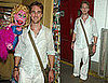Photos of James Van Der Beek with the Cast of Avenue Q