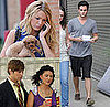 Photos of Blake Lively, Penn Badgley, Chace Crawford, Jessica Szohr Filming Gossip Girl in NYC