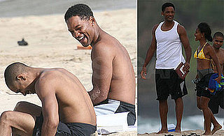 Photos of Will Smith and Family on Vacation in Hawaii Wearing Bikinis