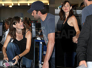 Photos of Jennifer Garner and Ben Affleck at LAX