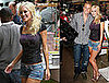 Photos of Heidi Montag and Spencer Pratt Promoting Heidiwood at Kitson in LA