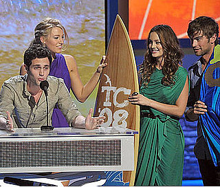 Blake Lively, Penn Badgley, Leighton Meester and Chace Crawford at The Teen Choice Awards