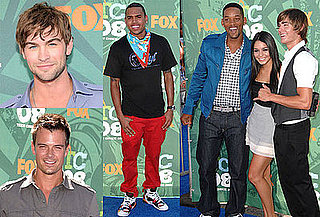 Photos of Chace Crawford, Will Smith, Zac Efron, Chris Brown, the Jonas Brothers at the Teen Choice Awards