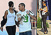 Photos of Chris Brown and Rihanna Shopping With a Puppy