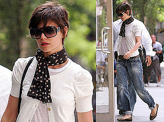 Photos of Katie Holmes With Shorter Hair