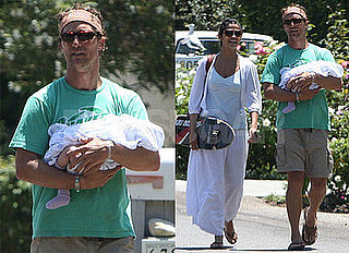 Photos of Matthew McConaughey, Camila Alves, and Levi McConaughey