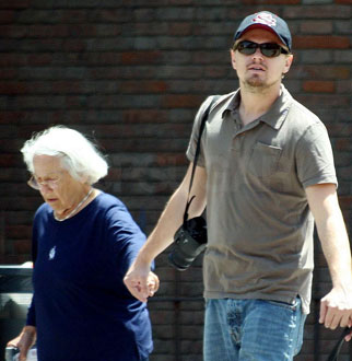 Photo of Leonardo DiCaprio, Whose Grandmother Recently Passed Away