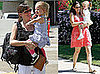 Photos of Jennifer Garner and Celebrity Baby Violet Affleck at Giggles and Hugs