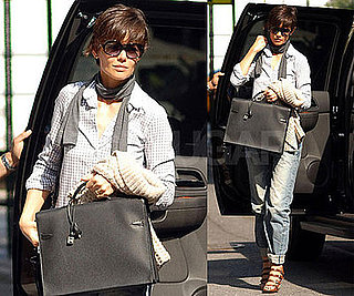 Photos of Katie Holmes in Manhattan 2008-08-13 11:30:00