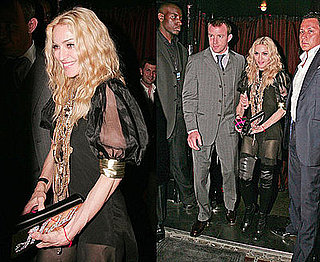 Photos of Madonna at her 50th Birthday Party