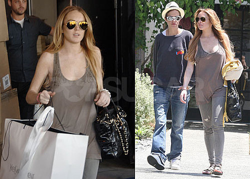 Photos of Lindsay Lohan Shopping in LA 2008-08-21 07:05:00