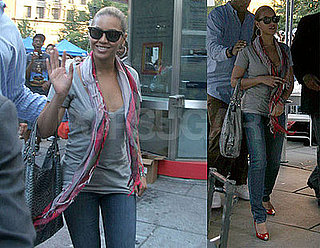 "Photos of Beyonce in NYC And Listen To Stand Up to Cancer ""Just Stand Up"" Single"