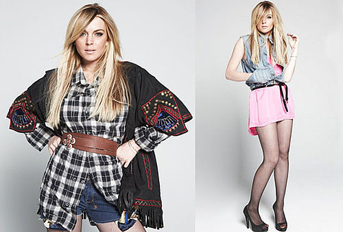 Photos of Lindsay Lohan in Nylon Magazine