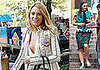 Photos of Blake Lively, Leighton Meester, and Ed Westwick Filming Gossip Girl, Talking About Catfight Scene