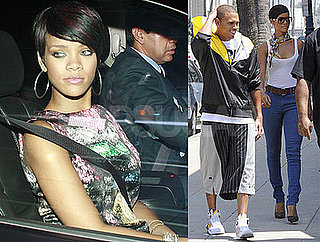 Photos of Chris Brown and Rihanna, Rumored to Be Looking at Houses Together