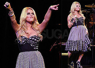 Photos of Jessica Simpson Performing and Calling Tony Romo the Love of Her Life