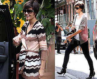 "Photos of Katie Holmes Rehearsing All My Sons; Tom Cruise Calls Suri ""Charming"""
