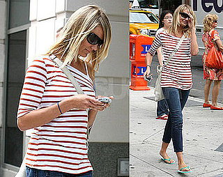 Photos of Cameron Diaz in NYC 2008-09-04 07:45:00
