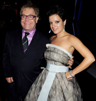 Photo of Elton John and Lily Allen, Who Got in Public Fight at GQ Men of the Year Awards in London